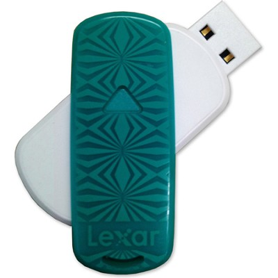 16 GB JumpDrive S33 USB 3.0 Flash Drive (Teal- Kaleidoscope)