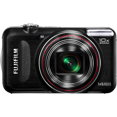 FINEPIX T300 14 MP Digital Camera 10x Wide Angle Zoom (Black)