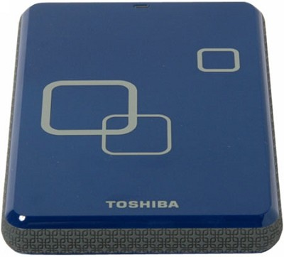 DS TS Canvio HD 640GB USB 2.0 Portable External Hard Drive - Liquid Blue