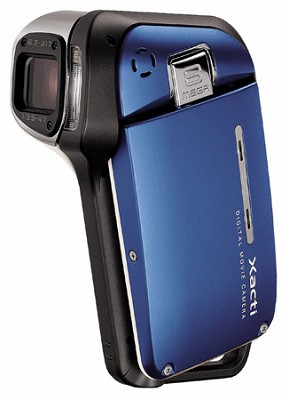 Xacti VPC-E2 8MP Waterproof Digital Camera Camcorder (Blue)