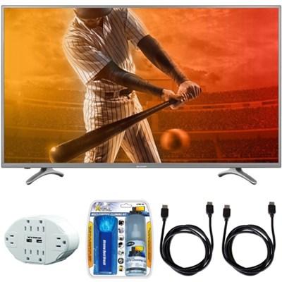 N5000 Full HD 40` Class 1080p WiFi Smart LED TV 40N5000U w/ Hook up Bundle