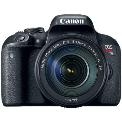 EOS Rebel T7i Digital SLR Camera with EF-S 18-135mm IS STM Kit