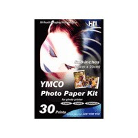 4` X 6` Photo Paper - 60 Sheets and Ribbon Cartridge for 730PS