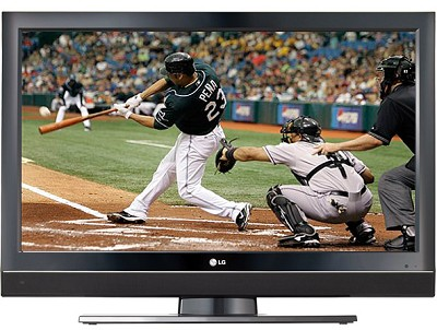 32LC7D- 32` High-definition LCD TV -  (Broken Foam)