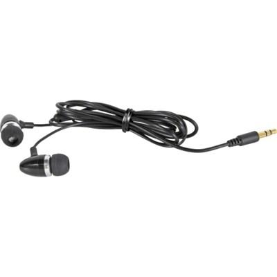 Virtuosa Metal in-ear Earbuds in Black