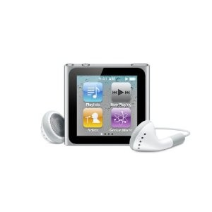 iPod nano 8 GB Silver 6th Generation