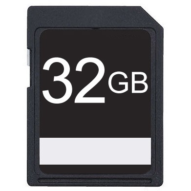 32GB SDHC High Speed Memory Card