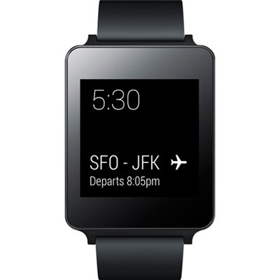 Android Wear Water and Dust Resistant Black Smart G Watch - ***AS IS***