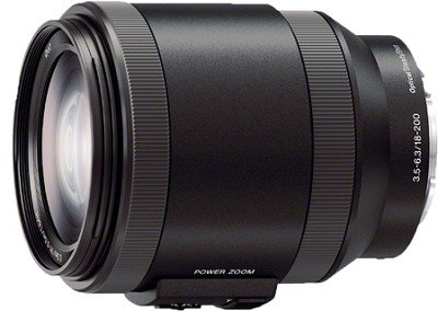 Alpha E-mount Power Zoom 18-200mm F3.5-6.3 OSS
