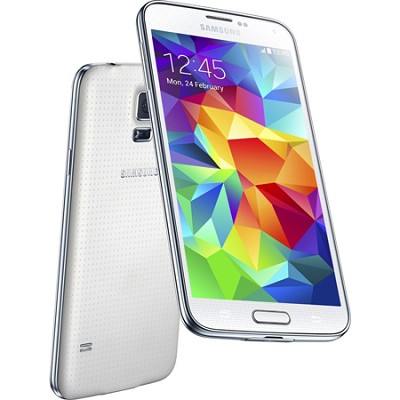 Galaxy S5 SM-G900F 4G LTE 16GB, White - International Unlocked Version