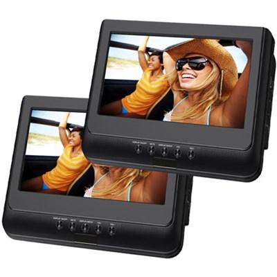 SDVD1037 10.1` Dual Screen Portable DVD Player - OPEN BOX