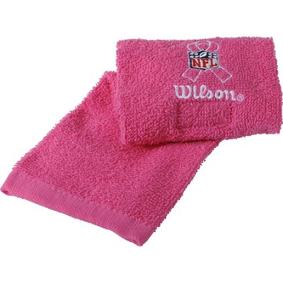 NFL Field Football Towel - Pink