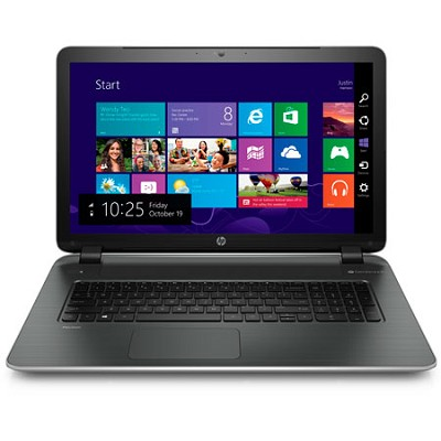 Pavilion 17.3` 17-f220nr Notebook PC - AMD Quad-Core A8-6410 APU Processor