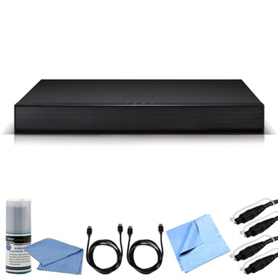 LAP250H 2.1ch 100W SoundPlate with Built-In Subwoofer and Bluetooth Bundle