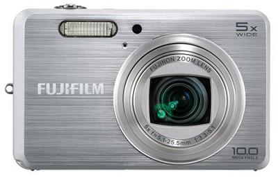 FINEPIX J150W 10MP 5x Optical Zoom 3` LCD Digital Camera (Silver)