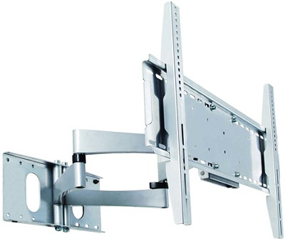 PMA-771 Articulating Arms Dual Stud Wall Mount for 40` to 60` Screens (Silver)
