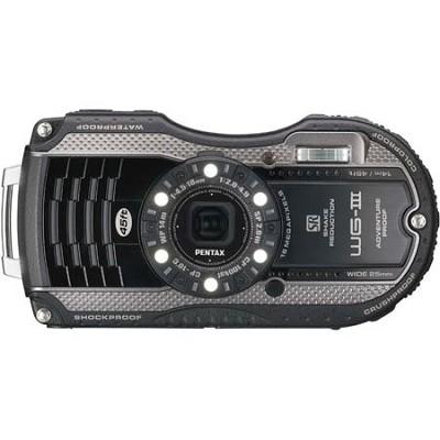 WG-3 16MP Black Waterproof Shockproof Crushproof Digi Cam - OPEN BOX