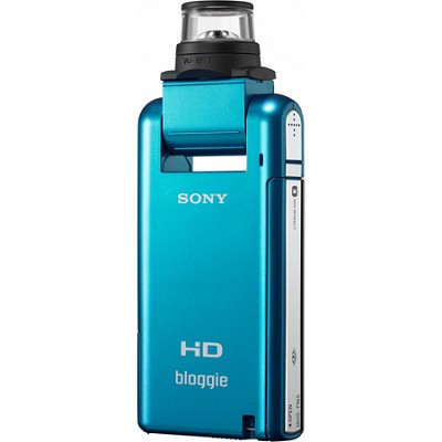 MHS-PM5K bloggie Blue 4GB Compact High Definition Camcorder