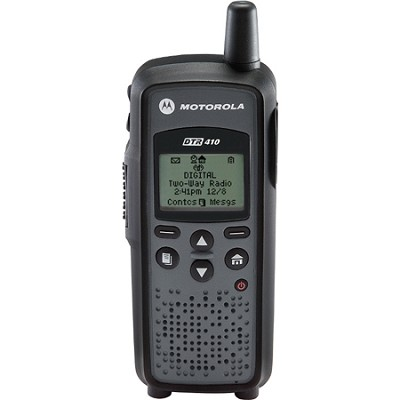 DTR410 Digital On-Site Two-Way Radio - Black