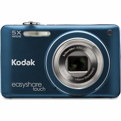 EasyShare Touch M5370 16MP Wide 5x Zoom 3` Touchscreen LCD Blue Digital Camera
