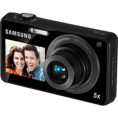 ST700 Dualview 16MP Black Digital Camera
