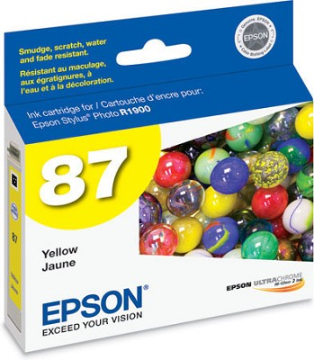 Yellow Ink Cartridge for the R1900
