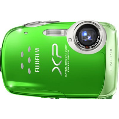 FINEPIX XP10 12 MP Water Proof Digital Camera (Green)