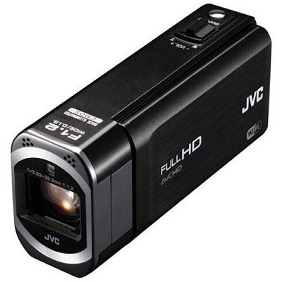 GZ-VX700BUS - HD Everio Camcorder 3.0` Touchscreen 10x Zoom f1.2 Wifi (Black)