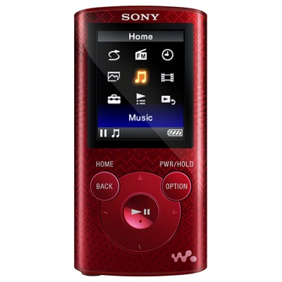 Walkman MP3 Player 8 GB - Red (NWZ-E384RED) - OPEN BOX