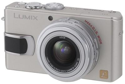 DMC-LX2 (Silver) Lumix 10.2 megapixel Digital Camera w/ 2.8` TFT LCD