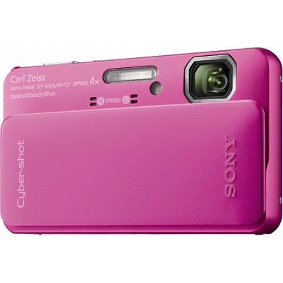 Cyber-shot DSC-TX10 Pink Digital Camera  * OPEN BOX *