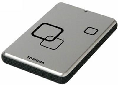 DS TS Canvio HD 640GB USB 2.0 Portable External Hard Drive - Satin Silver