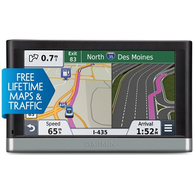 Nuvi 2557LMT 5` GPS Navigation System with Lifetime Maps and Traffic Updates