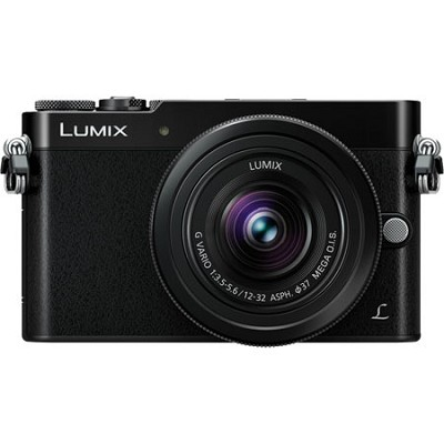 LUMIX GM5 Interchangeable Single Lens (DSLM) Black Camera Plus 12-32mm Lens