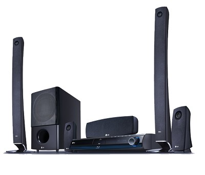 LHB977 - Blu-ray Disc High-definition Home Theater System - Open Box