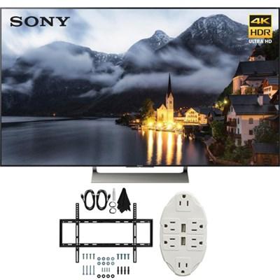XBR-49X900E 49` 4K HDR Ultra HD Smart LED TV (2017 Model) w/ TV Mount Bundle