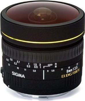8mm f/3.5 EX DG Circular Fisheye Lens for Nikon SLR CamerasFREE FEDEX  DELIVERY