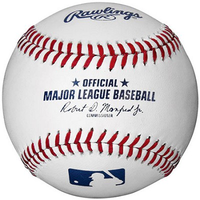 Official Major League Baseball with new Commissioner