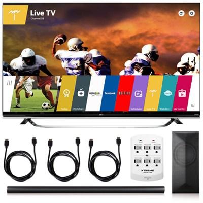 65UF8500 - 65-Inch 2160p 240Hz 3D 4K TV+ LAS751M 4.1 Channel Soundbar
