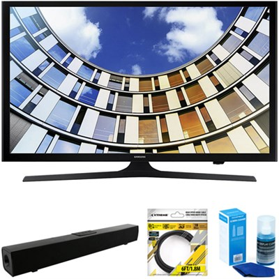 Flat 43` LED 1920x1080p 5 Series Smart TV 2017 Model + Soundbar Bundles