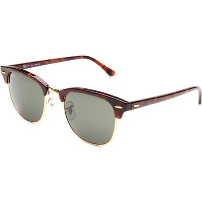 Clubmaster Tortoise/Arista/G-15 XLT 51mm Sunglasses