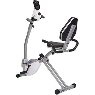 Recumbent Exercise Bike with Upper Body Exerciser (15-0340)