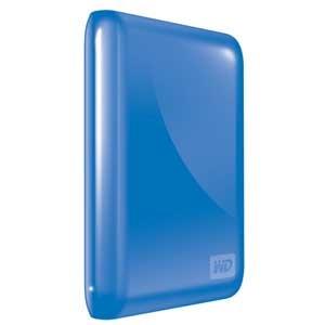 My Passport Essential 500GB USB 3.0/2.0 Portable Hard Drive Blue