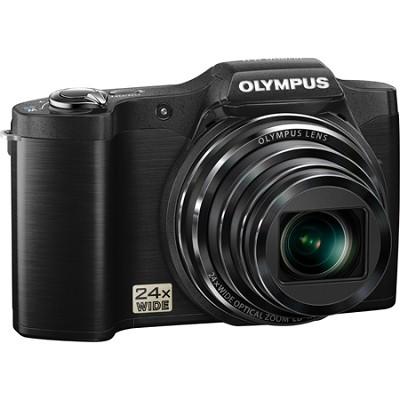 SZ-12 14MP Digital Camera with 24x Optical Zoom w/ 3` LCD (Black) - OPEN BOX