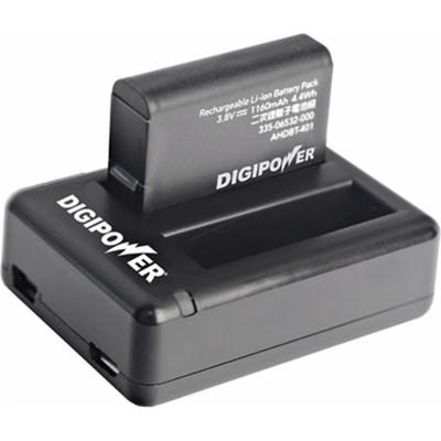 Two Slot USB Travel Charger & Battery kit for Go Pro Hero4 - RFK-GP401