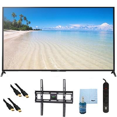 60` 1080p 120Hz Smart 3D LED HDTV Plus Mount and Hook-Up Bundle - KDL60W850B