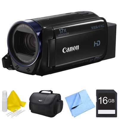 Vixia HF R62 High Definition Camcorder Bundle