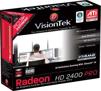 RADEON HD2400 PCIE 256MB DMS-59 LP/ATX 2PORT 270W REQ