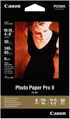 Photo Paper Pro II 4` X 6` - 50 Sheets