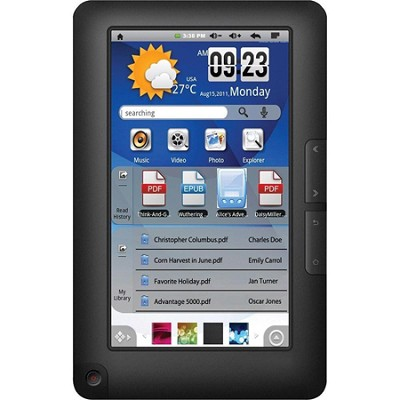 eGlide 7` Google Android Touch Screen Tablet & Kobo eReader - 4GB with WiFi
